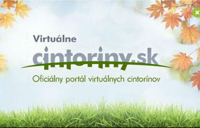 Virtual Cemeteries at www.cintoriny.sk